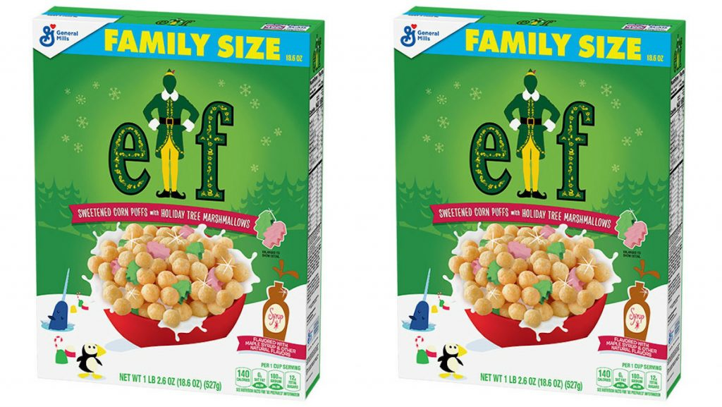 Holiday limited-edition food Elf Cereal