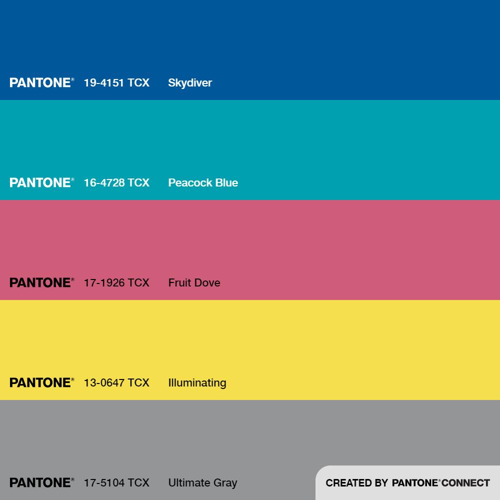 Pantone Connect Palette 1