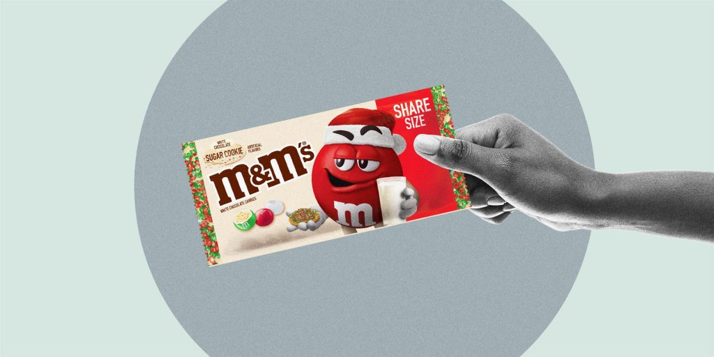 M&M Sugar Cookie Holiday limited-edition food